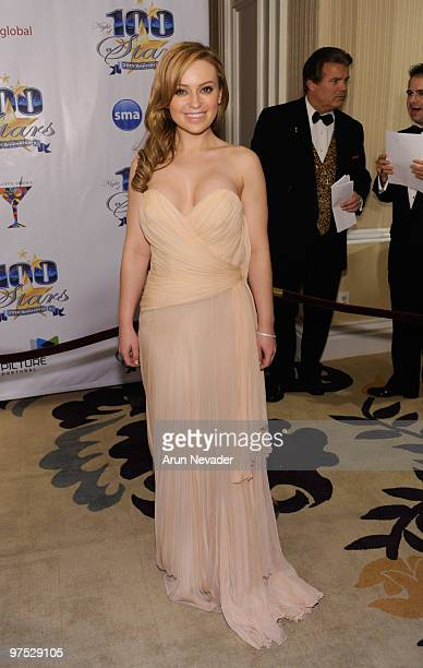 Actress Monica Keena attends The 20th Annual Night Of 100 Stars Awards Gala at Beverly Hills Hotel on March 7 2010 in Beverly Hills California