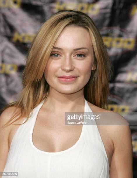 Actress Monica Keena attends the premiere of 'Harold and Kumar Escape From Guantanamo Bay' at the Arclight on April 17 2008 in Hollywood California