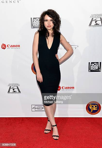 Actress Monica Keena attends the Society of Camera Operators Lifetime Achievement Awards at Paramount Theatre on February 6 2016 in Hollywood...