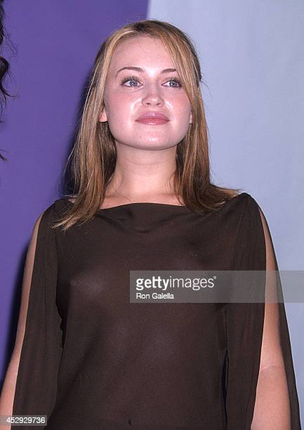 Actress Monica Keena attends the Third Annual Teen Choice Awards on August 12 2001 at the Universal Amphitheatre in Universal City California