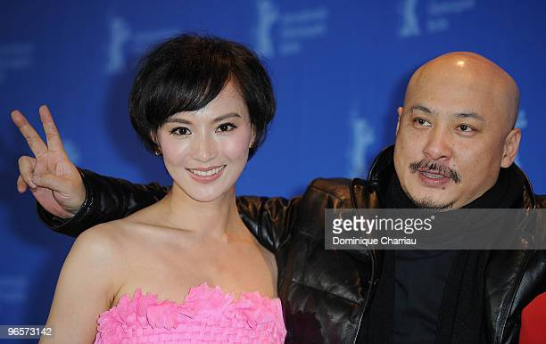 Actress Monica Mo and director Wang Quan�an attend the 'Tuan Yuan' Photocall during day one of the 60th Berlin International Film Festival at the...