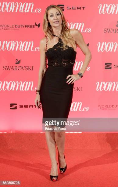 Actress Monica Pont attends the 'Woman 25th anniversary' photocall at Madrid Casino on October 18 2017 in Madrid Spain