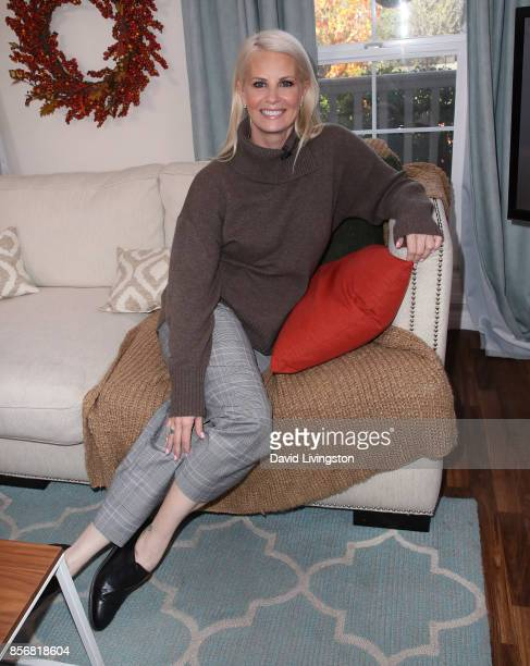 Actress Monica Potter attends Hallmark's Home Family at Universal Studios Hollywood on October 2 2017 in Universal City California