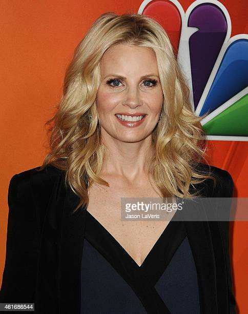 Actress Monica Potter attends the NBCUniversal 2015 press tour at The Langham Huntington Hotel and Spa on January 16 2015 in Pasadena California