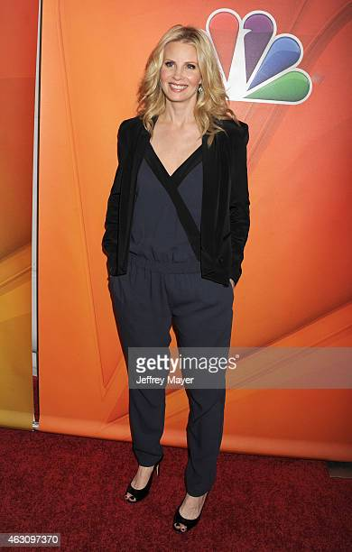 Actress Monica Potter attends the NBCUniversal 2015 Press Tour at the Langham Huntington Hotel on January 16 2015 in Pasadena California