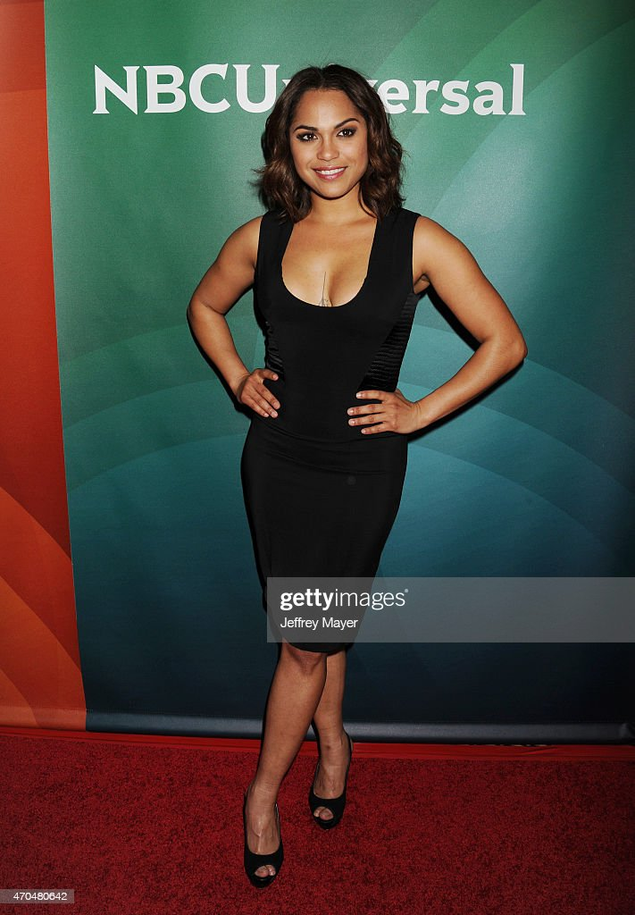 Actress Monica Raymund attends the 2015 NBCUniversal Summer Press Day held at the The Langham Huntington Hotel and Spa on April 02, 2015 in Pasadena, California.