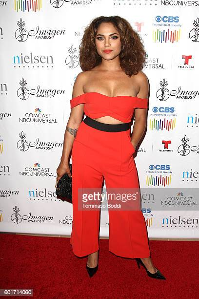 Actress Monica Raymund attends the 31st Annual Imagen Awards held at The Beverly Hilton Hotel on September 9 2016 in Beverly Hills California