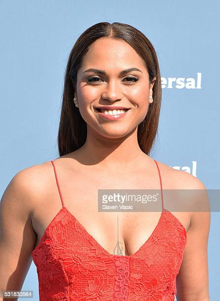 Actress Monica Raymund attends the NBCUniversal 2016 Upfront Presentation on May 16 2016 in New York New York