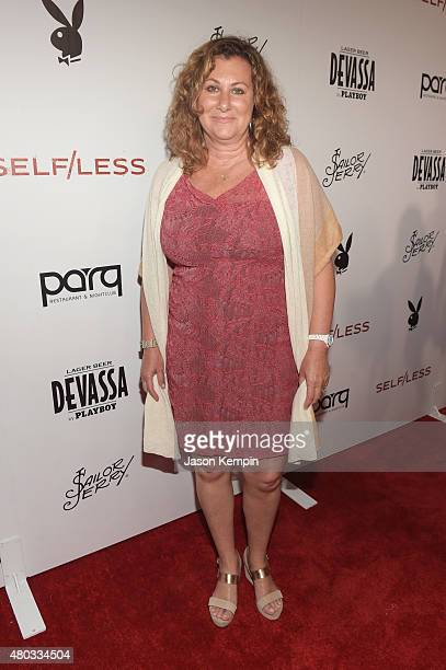 Actress Monica Richardson attends Playboy and Gramercy Pictures' Self/less party during Comic-Con weekend at Parq Restaurant & Nightclub on July 10,...