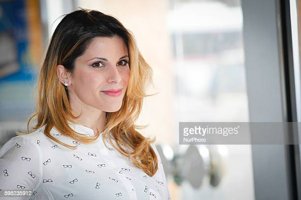 "Actress Monica Volpe attends ""Friends as we"" photocall in Rome - Cinema Adriano"