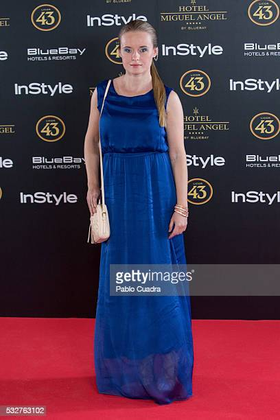 Actress Monika Kowalska attends the 'Live in Colors' photocall during the InStyle Beauty Day at the Miguel Angel Hotel Garden on May 19 2016 in...