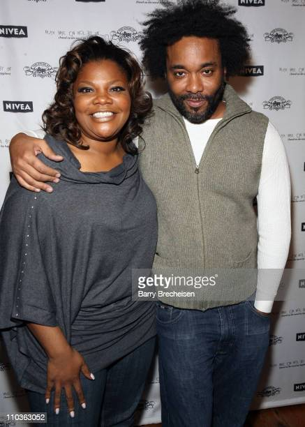 Actress Mo'Nique and director/producer Lee Daniels attend the Official 'Precious Based On The Novel 'Push' By Sapphire' after party at Island Def...