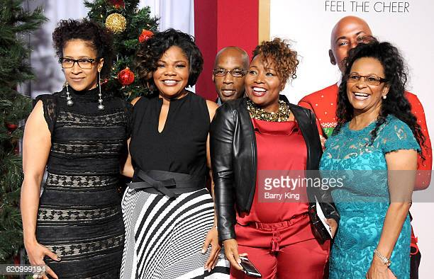 Actress Mo'Nique and family attend the premiere of Universal's 'Almost Christmas' at Regency Village Theatre on November 3 2016 in Westwood California