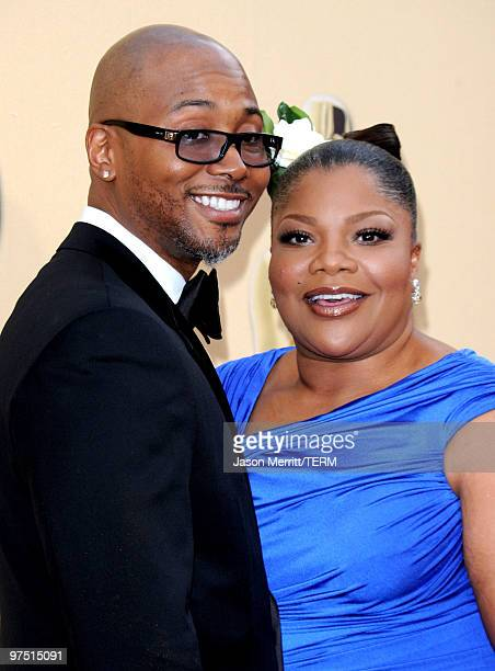 Actress Mo'Nique and husband Sidney Hicks arrives at the 82nd Annual Academy Awards held at Kodak Theatre on March 7 2010 in Hollywood California