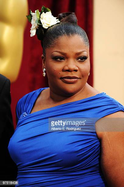 Actress Mo'Nique arrives at the 82nd Annual Academy Awards held at Kodak Theatre on March 7 2010 in Hollywood California