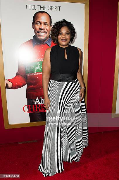 Actress Mo'Nique arrives at the premiere of Universal's 'Almost Christmas' at Regency Village Theatre on November 3 2016 in Westwood California