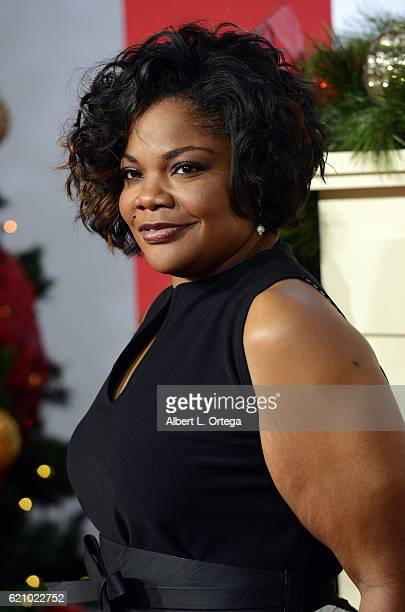Actress Mo'Nique arrives for the Premiere Of Universal's 'Almost Christmas' held at Regency Village Theatre on November 3 2016 in Westwood California