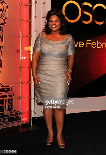 Actress Mo'Nique attends the 83rd Academy Awards Nominations Announcement held at the Samuel Goldwyn Theater Academy of Motion Picture Arts and...