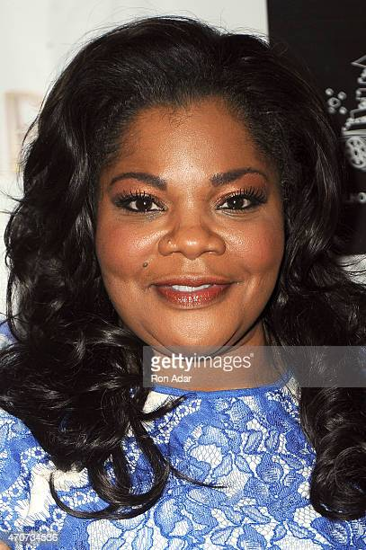 Actress Mo'nique attends the New York premiere of PatrikIan Polk's 'BLACKBIRD' at The Schomburg Center for Research in Black Culture on April 22 2015...
