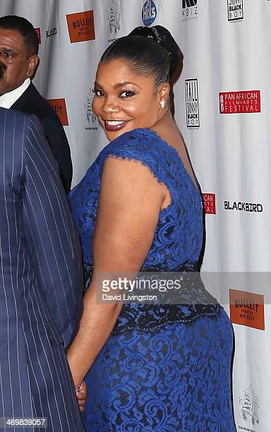 Actress Mo'Nique attends the Pan African Film Arts Festival closing night premiere of 'Blackbird' at Rave Cinemas Baldwin Hills 15 on February 16...