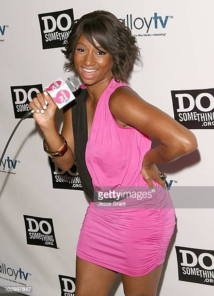 Actress Monique Coleman attends the 2010 VH1 Do Something! Awards After Party at La Vida on July 19, 2010 in Los Angeles, California.