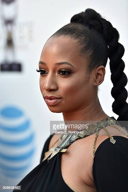 Actress Monique Coleman attends the 47th NAACP Image Awards presented by TV One at Pasadena Civic Auditorium on February 5 2016 in Pasadena California