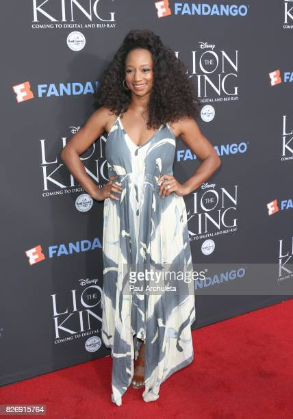 Actress Monique Coleman attends the 'The Lion King' singalong and screening at The Greek Theatre on August 5 2017 in Los Angeles California