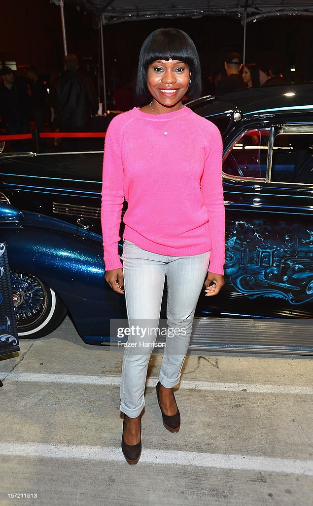 Actress Monique Lea Gall attends SA Studios and Mister Cartoon VIP Screening and After Party of Warner Brothers Pictures 'Gangster Squad' at SA Studios on November 29, 2012 in Los Angeles, California.