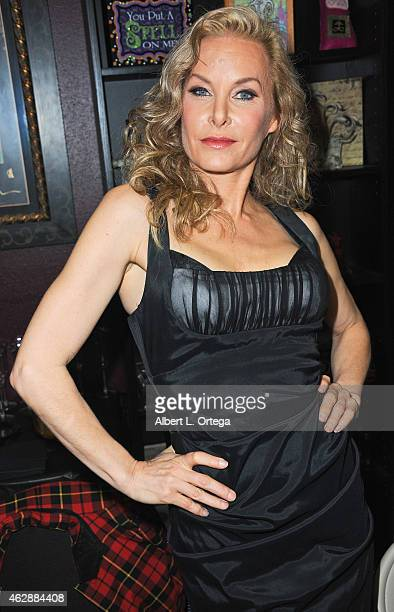 Actress Monique Parent at the Second Annual David DeCoteau's Day Of The Scream Queens held at Dark Delicacies Bookstore on January 25, 2015 in...