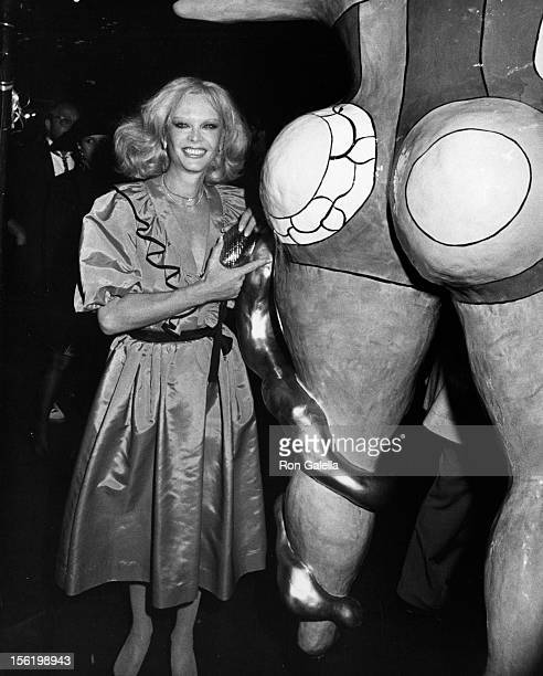 Actress Monique van Vooren attends First Annual New York Street Festival on August 30 1982 in New York City