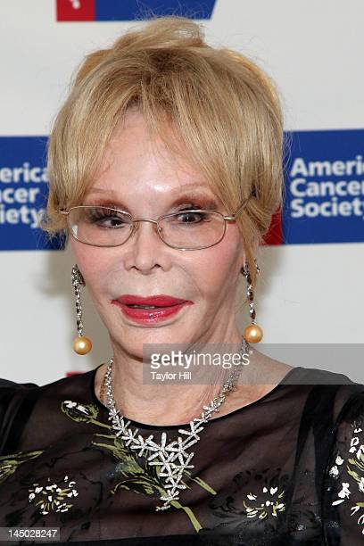 Actress Monique Van Vooren attends the 2012 American Cancer Society Birthday Bash honoring Nate Berkus at the St Regis Hotel on May 22 2012 in New...