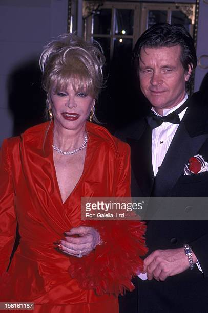 Actress Monique van Vooren attends The Red Ball on February 14 2000 at the Plaza Hotel in New York City