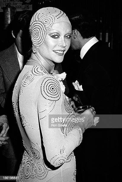 Actress Monique van Vooren sighted on December 3 1974 at The Lambs Club Continnental in New York City