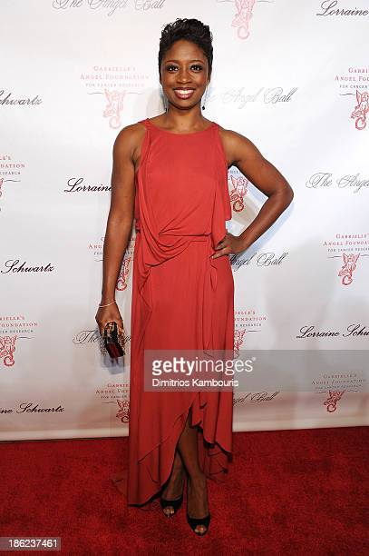 Actress Montego Glover attends Gabrielle's Angel Foundation Hosts Angel Ball 2013 at Cipriani Wall Street on October 29 2013 in New York City