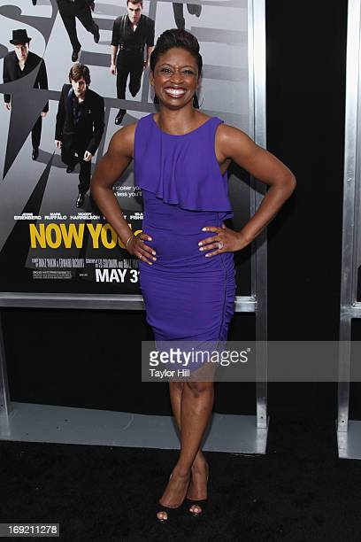 Actress Montego Glover attends the 'Now You See Me' premiere at AMC Lincoln Square Theater on May 21 2013 in New York City
