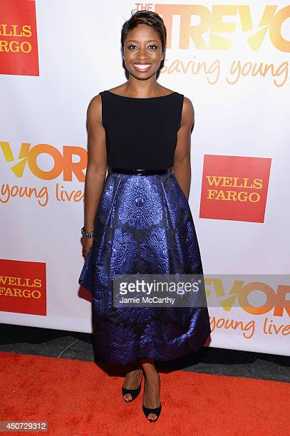 Actress Montego Glover attends the Trevor Project's 2014 'TrevorLIVE NY' Event at the Marriott Marquis Hotel on June 16 2014 in New York City