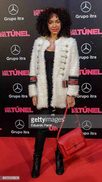 Actress Montse Pla attends 'Los del Tunel' premiere at Capitol cinema on January 18 2017 in Madrid Spain