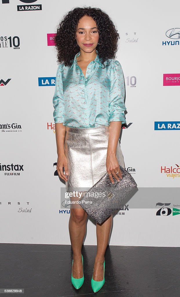 Actress Montse Pla attends the 'Lifestyle awards' photocall at Barcelo theatre on June 8, 2016 in Madrid, Spain.