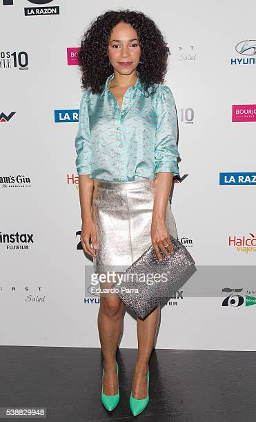 Actress Montse Pla attends the 'Lifestyle awards' photocall at Barcelo theatre on June 8 2016 in Madrid Spain