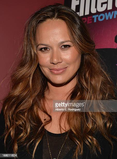 """Actress Moon Bloodgood attends Entertainment Weekly's CapeTown Film Festival presented by The American Cinematheque and sponsored by TNT's """"Falling..."""