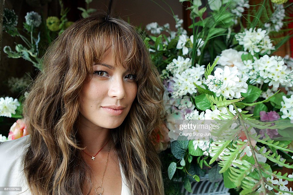 Actress Moon Bloodgood poses during a photo session as part of the 13th Pusan International Film Festival on October 4, 2008 in Busan, South Korea. The biggest film festival in Asia showcases 315 films from 60 countries.