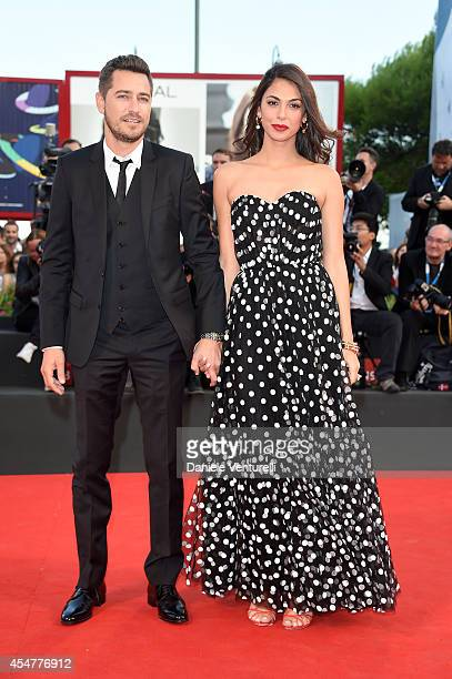 Actress Moran Atias and guest attend the Closing Ceremony during the 71st Venice Film Festival at Sala Grande on September 6 2014 in Venice Italy