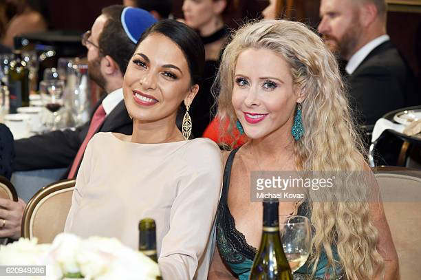 Actress Moran Atias and Traci Szymanski attend Friends Of The Israel Defense Forces Western Region Gala at The Beverly Hilton Hotel on November 3...