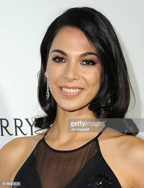 Actress Moran Atias arrives at amfAR's Inspiration Gala Los Angeles at Milk Studios on October 27 2016 in Hollywood California