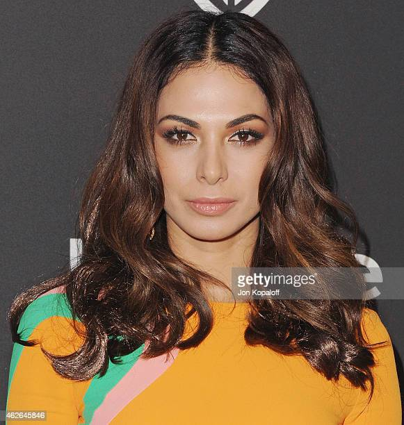 Actress Moran Atias arrives at the 16th Annual Warner Bros And InStyle PostGolden Globe Party at The Beverly Hilton Hotel on January 11 2015 in...