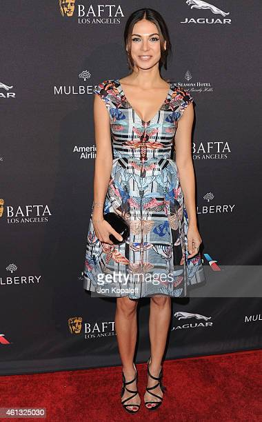 Actress Moran Atias arrives at the 2015 BAFTA Tea Party at The Four Seasons Hotel on January 10 2015 in Beverly Hills California