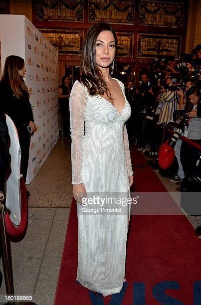 Actress Moran Atias arrives at the 'Third Person' Premiere during the 2013 Toronto International Film Festival at The Elgin on September 9 2013 in...