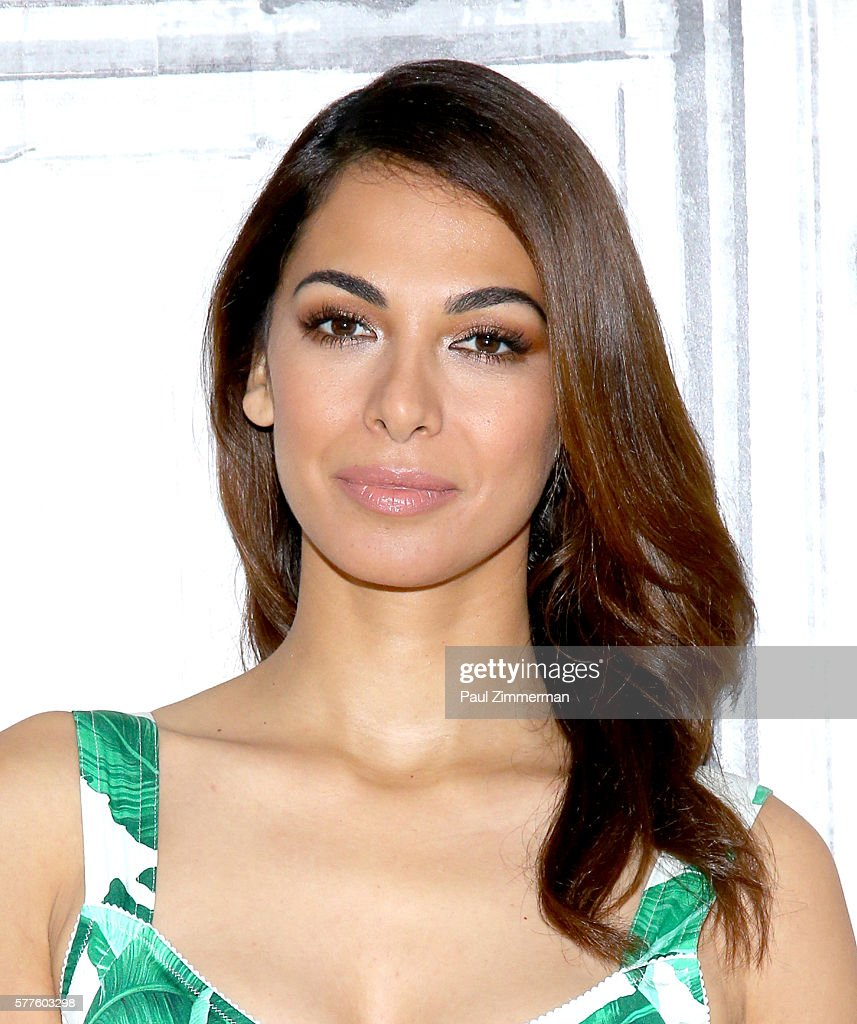 Actress Moran Atias attends AOL Build Speaker Series - to discusses Her New Role On 'Tyrant' at AOL HQ on July 19, 2016 in New York City.