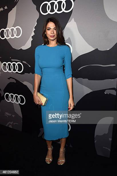 Actress Moran Atias attends Audi celebrates Golden Globes Week 2015 at Cecconi's Restaurant on January 8 2015 in Los Angeles California