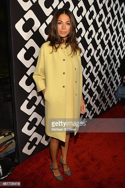 Actress Moran Atias attends Diane Von Furstenberg's Journey of A Dress Exhibition Opening Celebration at May Company Building at LACMA West on...